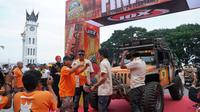 69 kendaraan menyelesaikan Indonesia Offroad Expedition (IOX) 2019 Andalas (Foto: IOX )