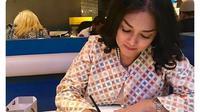Selain rumah makan, Bella Saphira juga membangun ruang serba guna yang dapat menampung 400 orang (Dok. Instagram/@bellasaphiraofficial/https://www.instagram.com/p/CBxIW_DHq92/Komarudin)