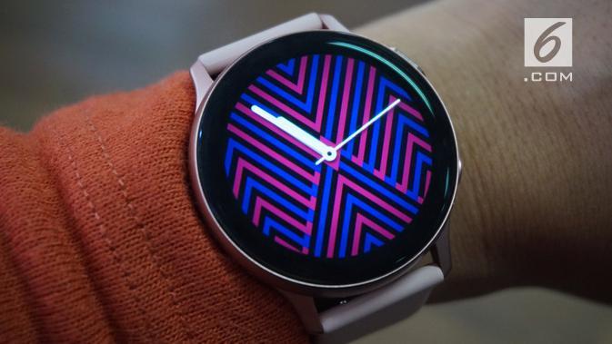 Galaxy Watch Active2 (Liputan6.com/ Agustin Setyo W)
