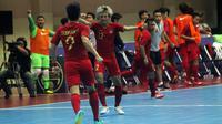 Timnas Futsal Indonesia akan menghadapi Thailand pada semifinal Piala 2018, Jumat (9/11/2018). (Bola.com/Ronald Seger Prabowo)
