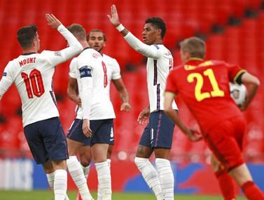Mason Mount Gemilang, Inggris Tumbangkan Belgia di UEFA Nations League