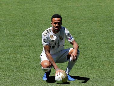 Bek Brasil Eder Militao Resmi Jadi Pemain Baru Real Madrid