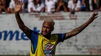 Penyerang Paris Saint-Germain, Neymar. (AFP/Miguel Schincariol)