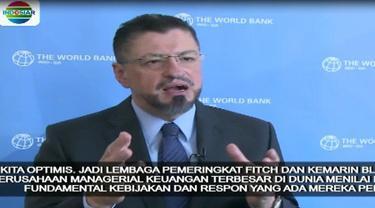 Kondisi makroekonomi Indonesia yang cukup kuat dan respon pemerintah dalam membuat kebijakan menghadapi pelemahan rupiah dinilai bisa membantu mengatasi hal ini.