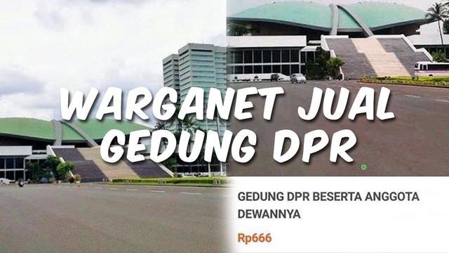 Video Top 3 hari ini ada berita terkait warganet jual gedung DPR, gempa magnitudo 6,8 guncang Ambon, dan seorang ibu meminta anaknya pulang di tengah kerumunan demonstrasi.