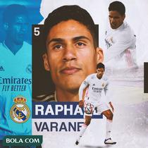 Real Madrid - Raphael Varane (Bola.com/Adreanus Titus)