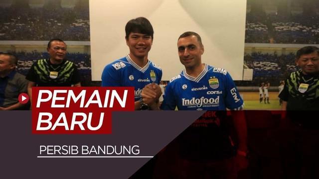 Berita video Persib Bandung memperkenalkan 2 pemain barunya untuk musim 2019 yaitu Achmad Jufriyanto dan Arthur Gevorkyan.