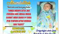 Bayi dengan nama 19 kata di Tuban kesulitan dapat akta lahir. (Ahmad Adirin/Liputan6.com)