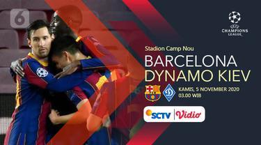 PREDIKSI Barcelona vs Dynamo Kiev
