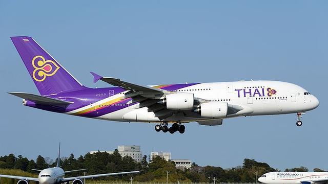 Image result for pesawat thai airways