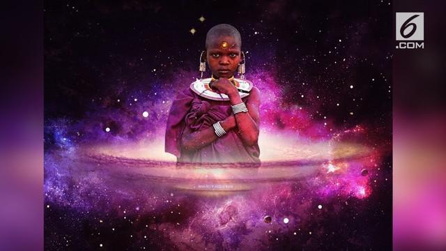 Njeri memprotes sedikitnya orang kulit hitam dalam karya science-fiction.