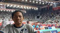 Risal Anssor sangat senang bisa datang ke Asian Para Games 2018. (doc Inapgoc)