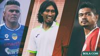 Trivia - Pencetak Gol Terbanyak Sepanjang Era Liga Indonesia (Bola.com/Adreanus Titus)
