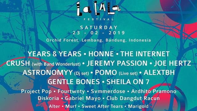 Lalala Festival 2019 Berakhir Komentar Pengunjung Bikin