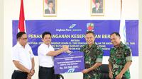 Dukungan SATGASPAM (Satuan Tugas Pengamanan Bandara )akan diberikan oleh Lanud selama 24 (dua puluh empat) jam penuh dengan menyesuaikan kebutuhan dan kondisi di Bandar Udara El Tari Kupang.