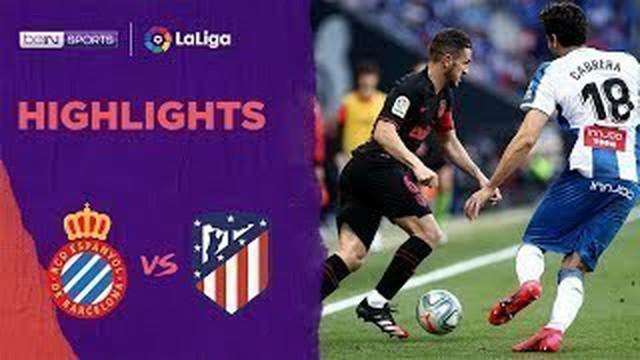 Berita Video Highlights La Liga, Atletico Vs Espanyol Berakhir Imbang 1-1