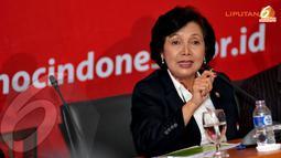 Rita Subowo juga menjelaskan bahwa total kebutuhan biaya untiuk akomodasi yang akan dikeluarkan buat tim Indonesia di Sea Games Myamar adalah 49 Miliar (Liputan6.com/Helmi Fithriansyah)