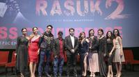 Press screening film Rasuk 2 di kawasan Epicentrum, Kuningan, Jakarta Selatan, Senin (23/12/2019). (Daniel Kampua/Fimela.com)