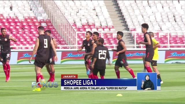 Persija Jakarta menjamu Arema FC di Stadion Gelora Bung Karno dalam laga Shopee Liga 1. Keduanya optimis meraih poin penuh.