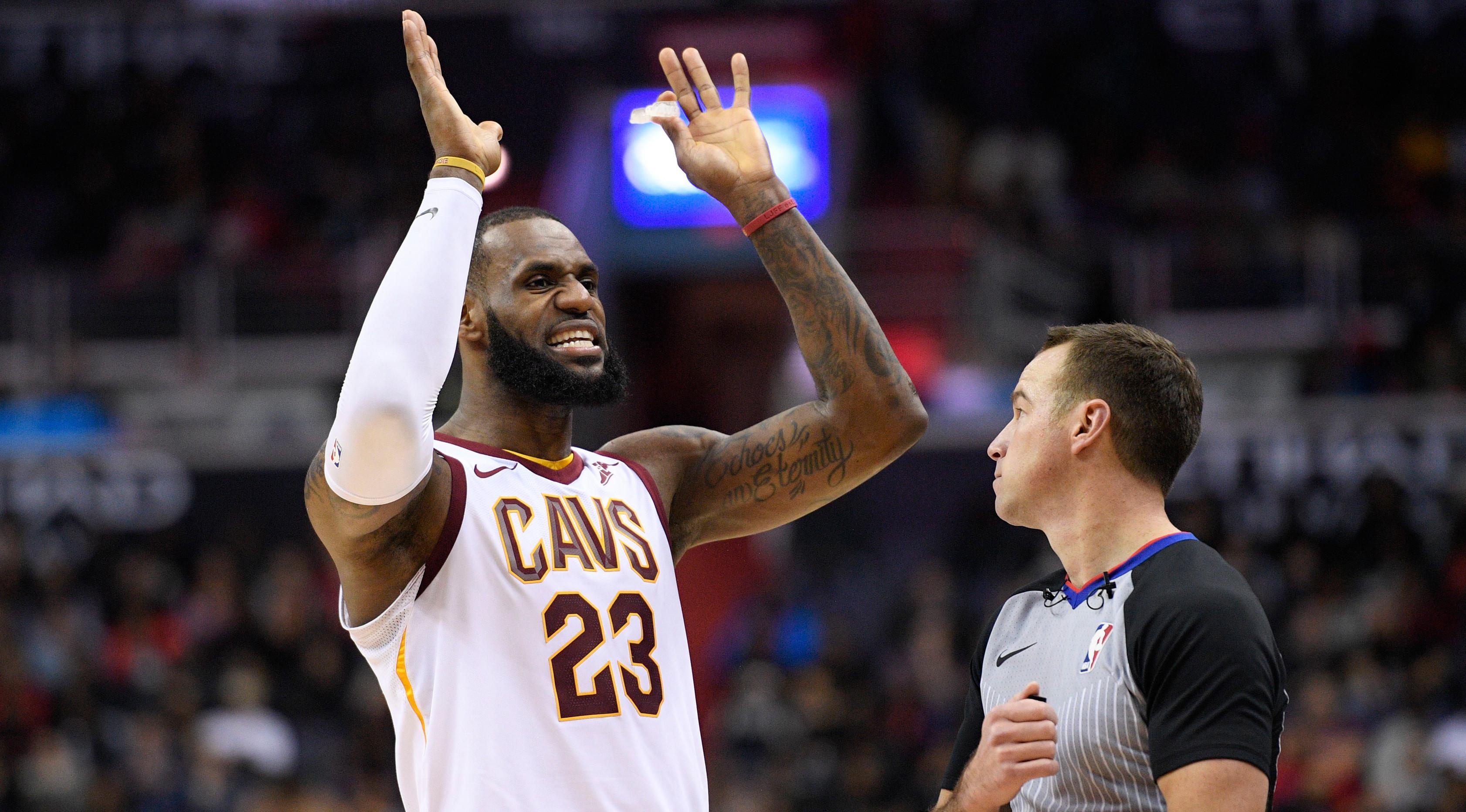 LeBron James. (AP/Nick Wass)