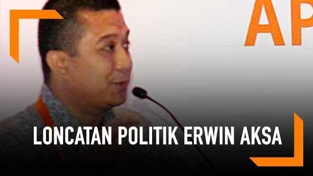 Politikus Partai Golkar Erwin Aksa melabuhkan dukungannya di Pilpres 2019 untuk pasangan Prabowo Subianto-Sandiaga Uno.