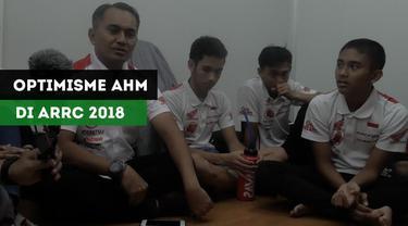 Berita Video Astra Honda Motor Optimis Sapu Bersih AP 250 di ARRC 2018