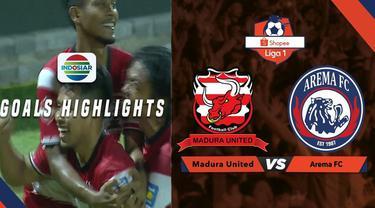 Berita video gol ajaib gelandang Madura United, Andik Vermansah, ke gawang Arema FC dalam lanjutan Shopee Liga 1 2019, Sabtu (20/7/2019).