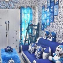 Rumah Doraemon yang sedang viral (instagram @reghinakarwur)