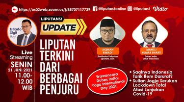 Live Update 21 Juni