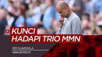 Berita video komentar Pep Guardiola soal Lionel Messi, Neymar dan Kylian Mbappe jelang PSG Vs Manchester City di Liga Champions, Rabu (29/9/21)