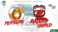 Jadwal Liga 1 2018 pekan ke-33, Perseru Serui vs Madura United. (Bola.com/Dody Iryawan)