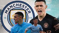 Manchester City - Phil Foden (Bola.com/Adreanus Titus)