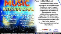 10.000 wisatawan jadi target Samosir Music International 2018.