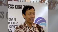 Staf Ahli Menteri Bidang Komunikasi dan Media Kementerian Komunikasi dan Informasi Hendro Sudianto (Dewi Divianta/Liputan6.com)