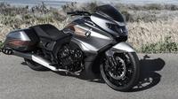 BMW Motorrad baru saja merilis motor konsep bernama 'Concept 101' di gelaran Concorso d'Eleganza Villa d'Este, Italia (Foto: Worldcarfans).