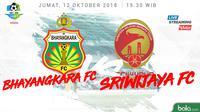 Liga 1 2018 Bhayangkara FC Vs Sriwijaya FC (Bola.com/Adreanus Titus)