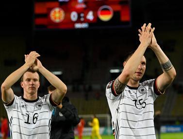 Foto: Tundukkan Makedonia Utara 4-0, Jerman Jadi Tim Pertama yang Lolos ke Putaran Final Piala Dunia 2022