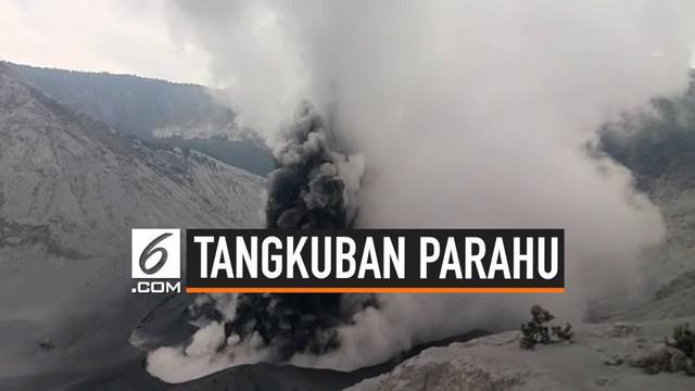 Akibat erupsi terus menerus dari gunung Tangkuban Parahu menimbulkan hujan abu di wilayah Bandung Barat dan Subang. meski tidak berbahaya watga diimbau menggunakan masker.