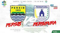 Liga 1 2018 Persib Bandung Vs Persipura Jayapura (Bola.com/Adreanus Titus)