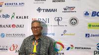 Sugeng Rahardjo, Presiden Direktur PT Gajah Tunggal Tbk saat meraih penghargaan Dharmabakti Olahraga di Golden Award Malam Anugerah Olahraga (istimewa)