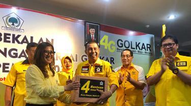 Ketua Umum Partai Golkar Airlangga Hartarto memberikan pembekalan strategi pemenangan Pileg dan Pilpres 2019 kepada ratusan caleg DPD Golkar Yogyakarta. (Istimewa)