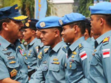 Citizen6, Jakarta: Panglima TNI menyatakan bahwa keikutsertaan TNI dalam Satgas MTF UNIFIL merupakan  bukti komitmen TNI yang sangat kuat dalam mewujudkan salah satu tujuan nasional bangsa Indonesia. (Pengirim: Badarudin Bakri Badar)