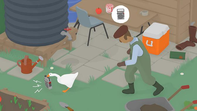 Untitled Goose Game. (Doc: House House)