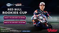 Jadwal dan Live Streaming Red Bull Rookies Cup 2021 Seri Jerman 19-20 Juni di FOX Sports. (Sumber : dok. vidio.com)