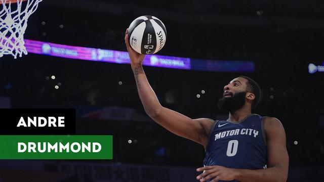 Berita video wawancara dengan Andre Drummond membahas tentang NBA All-Star 2018.