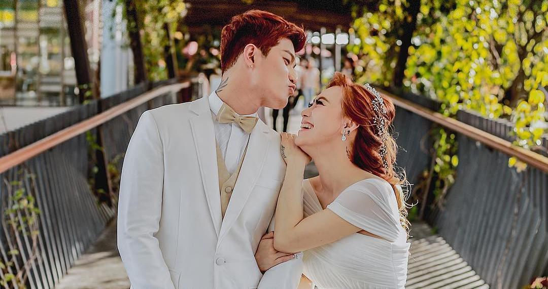Lee Jeong Hoon dan Moa resmi menikah [foto: instagram/nobelphotography]