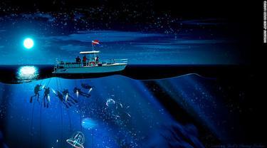 Binatang Laut 'Alien' dari Dasar Laut Hawai