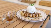 Ilustrasi makanan, croffle. (Image by JUNO KWON from Pixabay)