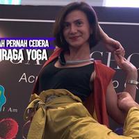 Seperti ini cerita Wanda Hamidah yang pernah cedera pinggang saat lakukan olahraga yoga.