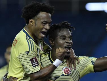 Kolombia Hajar Venezuela di Kualifikasi Piala Dunia 2022